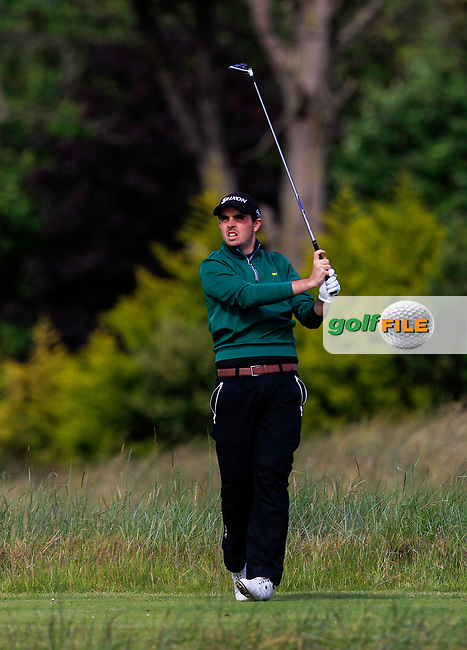 Alan Lowry (Esker Hills) on the 4th tee during Round 4 of the East of Ireland Amateur Open Championship at Co. Louth Golf Club in Baltray on Monday 5th June 2017.<br /> Photo: Golffile / Thos Caffrey.<br /> <br /> All photo usage must carry mandatory copyright credit     (&copy; Golffile | Thos Caffrey)