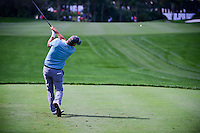Freddie Jacobson (SWE) watches his tee shot on 10 during round 1 of the Honda Classic, PGA National, Palm Beach Gardens, West Palm Beach, Florida, USA. 2/23/2017.<br /> Picture: Golffile | Ken Murray<br /> <br /> <br /> All photo usage must carry mandatory copyright credit (&copy; Golffile | Ken Murray)