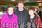 LAUNCH: Attending the launch of Owen O'Shea new book Heirs to the Kingdom at O'Mahony's book shop, Tralee on Friday l-r: Doreen O'Shea and J.J. and Bridget Crowley.