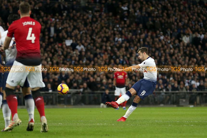 Harry Winks of Tottenham Hotspur during Tottenham Hotspur vs Manchester United, Premier League Football at Wembley Stadium on 13th January 2019