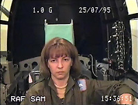 BNPS.co.uk (01202 558833)<br /> Pic: SueAdcock/FAST/BNPS<br /> <br /> 1G - FAST guide Sue Adcock on one of over 600 spins she undertook in the centrifuge - this one going from 1G to 8G.<br /> <br /> Sci-fi 'Centrifuge' to open its doors to the public after 64 years...<br /> <br /> A remarkable Cold War relic which has put thousands of pilots through their G-force paces has made its final spin after six decades. <br /> <br /> The Top Secret building at the former RAE Farnborough test site is now open to the public for guided tours led by the scientists from FAST who used to work there.<br /> <br /> The Farnborough Centrifuge was used to simulate huge 9G forces - nine times more than a human body is designed to absorb - they would encounter while flying fast jets during combat operations.<br /> <br /> The pilot would sit in a small compartment replicating a cockpit at the end of the 60ft rotating arm and be propelled at over 60mph, spinning 30 times a minute.<br /> <br /> A staggering 122,133 tests were performed on it before it was decommissioned in March this year, with a new centrifuge installed at RAF Cranwell.<br /> <br /> It featured on an episode of Top Gear in 2000 when Jeremy Clarkson had a go on it at 3G, leaving him in obvious discomfort. He described the force exerted on him as like 'having an elephant sat on my chest'.<br /> <br /> The centrifuge, which is being displayed for the public for the first time, also appeared in the 1985 comedy film Spies Like Us starring Chevy Chase and Dan Ackroyd.
