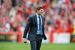 05.08.18 Aberdeen v Rangers: Steven Gerrard at full time