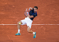 JEREMY CHARDY (FRA)<br /> <br /> TENNIS - FRENCH OPEN - ROLAND GARROS - ATP - WTA - ITF - GRAND SLAM - CHAMPIONSHIPS - PARIS - FRANCE - 2016  <br /> <br /> <br /> <br /> &copy; TENNIS PHOTO NETWORK