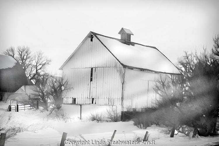 Barn in rural Wisconsin