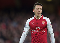 Mesut Ozil of Arsenal during the Premier League match between Arsenal and Newcastle United at the Emirates Stadium, London, England on 16 December 2017. Photo by Vince  Mignott / PRiME Media Images.