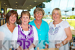 "NIGHT AT THE DOGS: Having a great time at the Friends of Kerry General Hospital Night at the Dogs at the Kingdom Greyhound Stadium on Friday l-r: Carmel Quirke, Margaret Downey, Mary ""Connell and Anne O'Carroll."