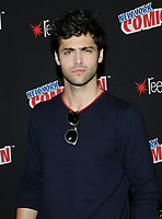 NEW YORK, NY - OCTOBER 07:  Matthew Daddario from the cast of the Shadowhunters attend the press day at New York ComicCon at the Theater at Madison Square Garden on October 7, 2017 in New York City. <br /> CAP/MPI/JP<br /> &copy;JP/MPI/Capital Pictures