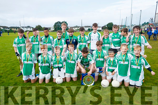 The Na Gaeil team who won the Abie Allen Plate Final in the Lee Strand U13 Invitational Tournament at Connolly Park on Saturday.