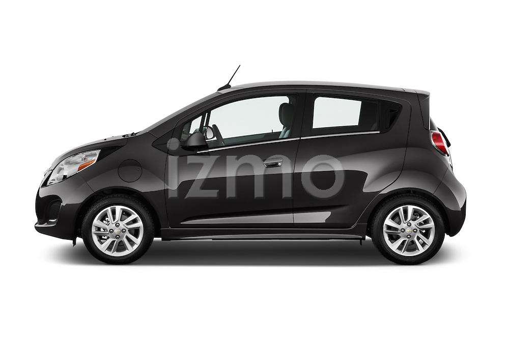 Driver side profile view of a 2014 Chevrolet Spark EV