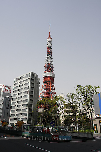 April 12, 2008; Tokyo, Japan - Tokyo Tower...Photo credit: Darrell Miho