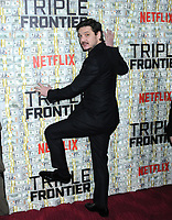 03 March 2019 - New York, New York - Pedro Pascal. The World Premiere of &quot;Triple Frontier&quot; at Jazz at Lincoln Center. <br /> CAP/ADM/LJ<br /> &copy;LJ/ADM/Capital Pictures