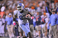 16 October 2010:  North Carolina WR Dwight Jones (83) caught 7 passes for 199 yards and 2 touchdowns..The North Carolina Tar Heels defeated the Virginia Cavaliers 44-10 at Scott Stadium in Charlottesville, VA.