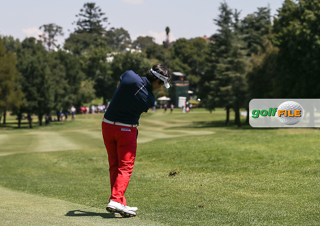 Daniel Im (USA) plays down the 9th during Round Three of the 2016 Tshwane Open, played at the Pretoria Country Club, Waterkloof, Pretoria, South Africa.  13/02/2016. Picture: Golffile | David Lloyd<br /> <br /> All photos usage must carry mandatory copyright credit (&copy; Golffile | David Lloyd)