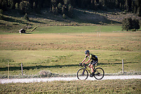 Daryl Impey (ZAF/Mitchelton-Scott) at the gravel section atop the Montée du plateau des Glières (HC/1390m)<br /> <br /> Stage 18 from Méribel to La Roche-sur-Foron (175km)<br /> <br /> 107th Tour de France 2020 (2.UWT)<br /> (the 'postponed edition' held in september)<br /> <br /> ©kramon