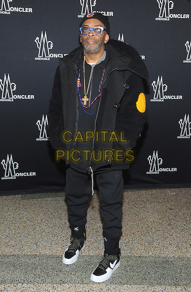 NEW YORK, NY - FEBRUARY 14:  Spike Lee attends the Moncler Grenoble fashion show during 2017 New York Fashion Week at The Hammerstein Ballroom on February 14, 2017 in New York City.   <br /> CAP/MPI/JP<br /> &copy;JP/MPI/Capital Pictures