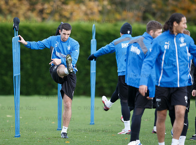 Lee Wallace back in the swing of things