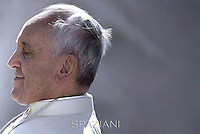 Pope Francis during his weekly general audience in St. Peter square at the Vatican, Wednesday.October 22, 2014