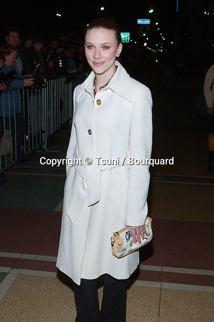 Scarlett Johansson  arriving at the IFP/West Independent Spirit Awards Nomination annoucement at El Rey Theatre in Los Angeles. January 8, 2002.           -            JohanssonScarlett01A.jpg