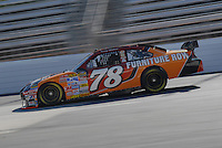 Mar 30, 2007; Martinsville, VA, USA; Nascar Nextel Cup Series driver Kenny Wallace (78) during practice for the Goody's Cool Orange 500 at Martinsville Speedway. Martinsville marks the second race for the new car of tomorrow. Mandatory Credit: Mark J. Rebilas