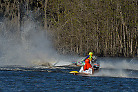 Frame 5: Serena Durr 96-F, Erin Pittman 6-H crash. (Outboard Hydroplanes)