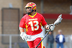 Mission Viejo, CA 05/14/11 - Spencer Taylor (Mission Viejo #13) in action during the Division 2 US Lacrosse / CIF Southern Section Championship game between Mission Viejo and Loyola at Redondo Union High School.
