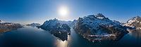 Trollfjord, Lofoten Islands, Norway