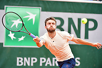 Gilles Simon during Day 2 of the French Open 2018 on May 28, 2018 in Paris, France. (Photo by Dave Winter/Icon Sport)