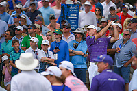 Jim Furyk (USA) watches his tee shot on 2 during round 4 of the 2019 Charles Schwab Challenge, Colonial Country Club, Ft. Worth, Texas,  USA. 5/26/2019.<br /> Picture: Golffile | Ken Murray<br /> <br /> All photo usage must carry mandatory copyright credit (© Golffile | Ken Murray)