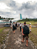 INDONESIA, Mentawai Islands, surfers leaving Sipora island for Padang