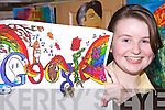 DOODLING: Cyrene Lawlee of Presentation Secondary School, Listowel who has been shortlisted for the Doodle for Google competition.