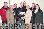 CREDIT: Tom Lawlor (Treasurer of Tralee Credit Union), presented a cheque to Stan McCarthy (Chairman of Ardfert Senior Football Team) at Austin Stack Park, Tralee, on Saturday night. L-R: Sean Dineen (Ardfert), Mike Quinn (Chairman Tralee Credit Union), Pat Driscoll (Trainer), Stan McCarthy (Chairman Ardfert), Pat McGarty, Tom Lawlor (Treasurer Tralee Credit Union), Joe Wallace (Ardfert) and Grace Egan (Tralee Credit Union).
