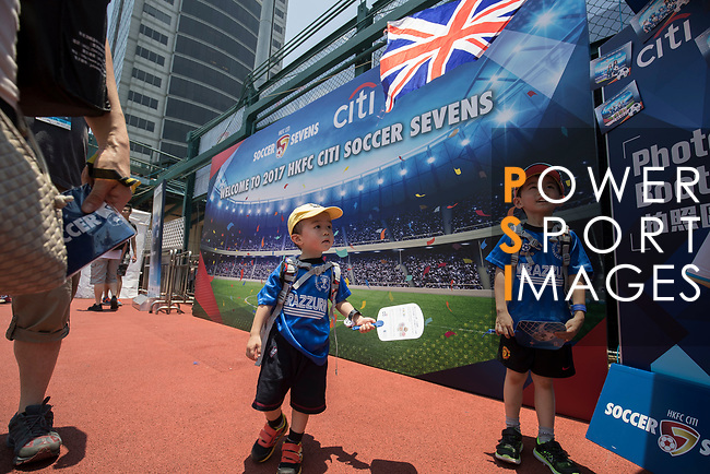 HKFC Citi Soccer Sevens 2017 on 28 May 2017 at the Hong Kong Football Club, Hong Kong, China. Photo by Chris Wong / Power Sport Images