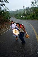 Zozocolco de Hidalgo Veracruz, Mexico. April 5, 2008