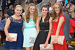 Enjoying Ladies Day at the Listowel Races on Friday were: Niamh Kilkenny, Melissa McEnery, Ashling Culhane and Aine Leahy from  Glin