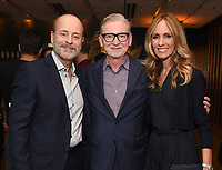 LOS ANGELES - SEPTEMBER 21: (L-R) John Landgraf, Chairman, FX Networks & FX Productions, Warren Littlefield, and Dana Walden, Chairman, Disney Television Studios & ABC Entertainment attend the FX Networks & Vanity Fair Pre-Emmy Party at Craft LA on September 21, 2019 in Los Angeles, California. (Photo by Frank Micelotta/FX/PictureGroup)