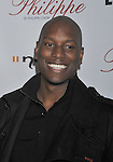 WEST HOLLYWOOD, CA. - October 12: Tyrese Gibson arrives at the opening celebration for Philippe West Hollywood on October 12, 2009 in Los Angeles, California.