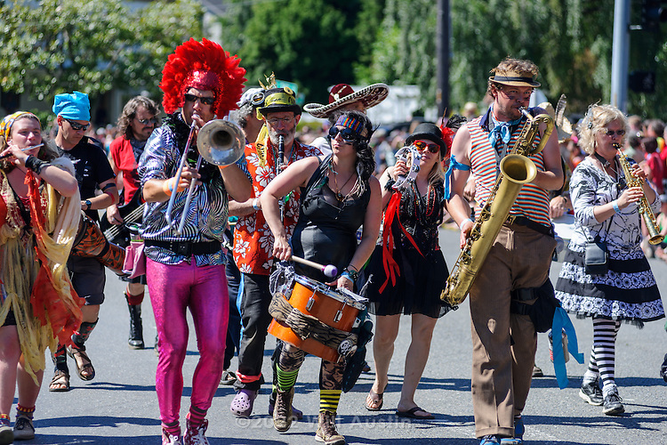 Fremont Solstice Parade 2014 in Seattle, WA