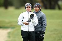 SAN ANTONIO, TX - OCTOBER 16, 2018: The University of Texas at San Antonio Roadrunners Women's Golf Team hosts the Maryb S. Kauth Invitational at the TPC San Antonio Canyons Course. (Photo by Jeff Huehn)