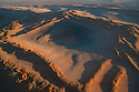 Namibia, Namib Desert, aerial of star dunes at eastern edge of the Namib Desert