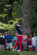 Gainesville, VA - August 2, 2015:    Ryo Ishikawa tee shot on hole 8 at the Robert Trent Jones Golf Club in Gainesville, VA. August 2, 2015.  (Photo by Elliott Brown/Media Images International)