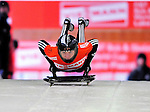 17 December 2010: Katharine Eustace sliding for New Zealand, finishes in 14th place at the Viessmann FIBT Skeleton World Cup Championships in Lake Placid, New York, USA. Mandatory Credit: Ed Wolfstein Photo