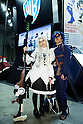 "Cosplayers pose for a picture during Anime Japan 2015 on March 21, 2015 in Tokyo, Japan. Anime Japan 2015 brings together all aspects of the ""anime"" industry offering an opportunity for visitors get close to creators, voice actors, idol groups, and cosplayers, and to learn about the industry. This is the second year that the exhibition is being held at Tokyo Big Sight. Organizers estimated that approximately 100,000 visitors attended in 2014 and similar huge numbers are expected this year. The exhibition is open on March 21st and 22nd. (Photo by Rodrigo Reyes Marin/AFLO)"