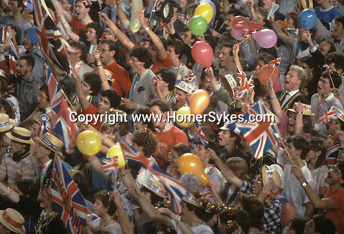 Last Night of the Proms. Albert Hall, London.  The English Season published by Pavilon Books 1987