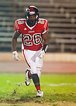 Inglewood, CA 10/09/14 - \m28\ in action during the Palos Verdes Peninsula vs Morningside CIF Varsity football game at Coleman Field in Inglewood.  Peninsula defeated Morningside 24-13.