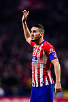 Jorge Koke of Atletico de Madrid gestures during the La Liga 2018-19 match between Atletico Madrid and FC Barcelona at Wanda Metropolitano on November 24 2018 in Madrid, Spain. Photo by Diego Souto / Power Sport Images