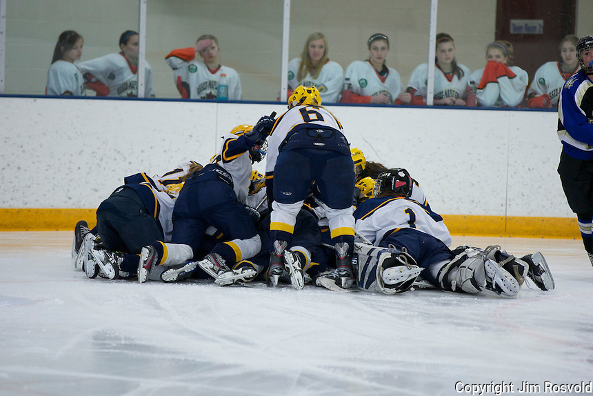 18 Mar 12: U12A and U14B tournament action at Fogarty Arena in Blaine, MN.
