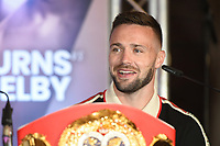 Josh Taylor during a Press Conference at the Park Plaza on 9th September 2019