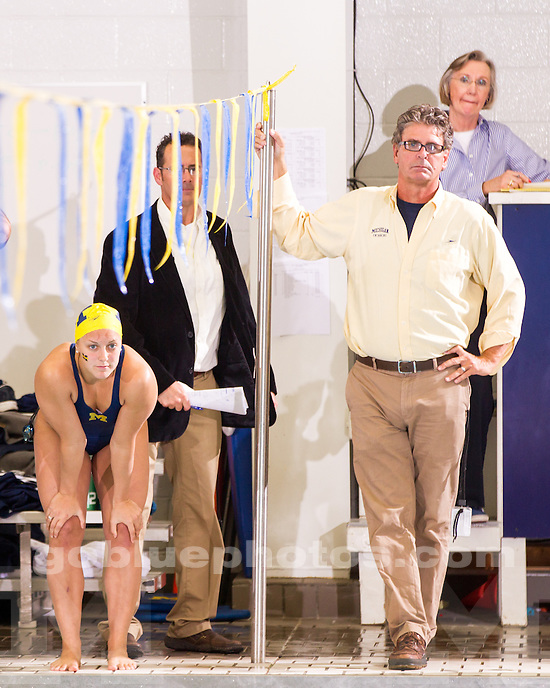 The University of Michigan women's swimming and diving team beat Ohio State, 163-137, at Canham Natatorium in Ann Arbor, Mich., on January 18, 2013.