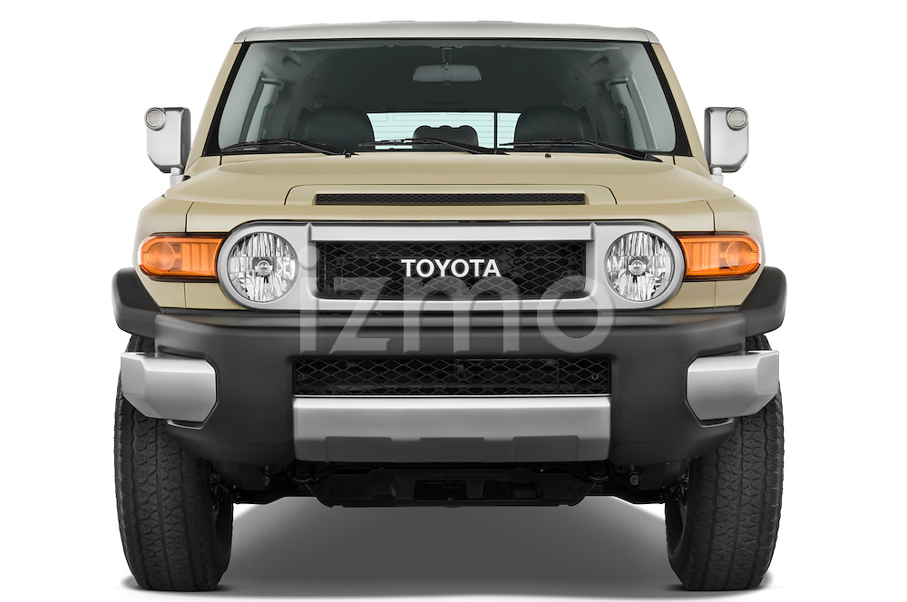 Straight front view of a 2008 Toyota FJ Cruiser