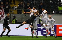Martin Hinteregger (Eintracht Frankfurt) kommt nicht an den Ball - 07.03.2019: Eintracht Frankfurt vs. Inter Mailand, UEFA Europa League, Achtelfinale, Commerzbank Arena, DISCLAIMER: DFL regulations prohibit any use of photographs as image sequences and/or quasi-video.